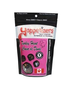 Yappetizers Turkey Heart Dog Treats