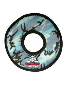 Tuffy's Dog Toy - Ultimate Ring - Blue Camo