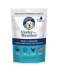 Under the Weather Bland Diets for Sick Dogs & Sensitive Stomachs - Chicken & Rice