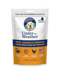Under the Weather Bland Diets for Sick Dogs & Sensitive Stomachs - Chicken, Rice & Pumpkin