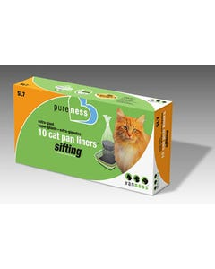 Van Ness Extra Giant Cat Pan Sifting Liners 10-Pack