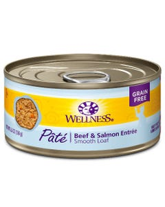 Wellness Complete Health Pate - Beef & Salmon Canned Cat Food