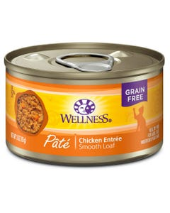 Wellness Complete Health Pate - Chicken Formula Canned Cat Food - 3.0 oz