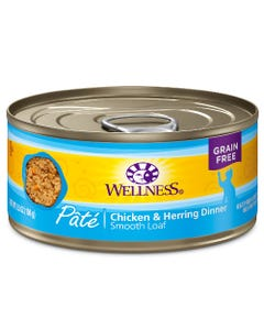 Wellness Complete Health Pate - Chicken & Herring Canned Cat Food - 5.5 oz