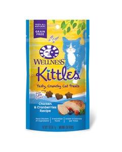 Wellness Kittles Chicken & Cranberries Cat Treats