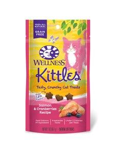 Wellness Kittles Salmon & Cranberries Cat Treats