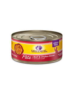 Wellness Complete Health Pate - Beef & Chicken Canned Cat Food