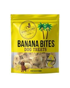 Wholesome Pride Banana Bites Dog Treats