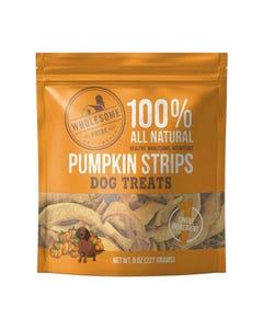 Wholesome Pride Pumpkin Strips Dog Treats - 8 oz. (227 g)