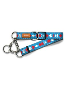 Woof Concept Martingale Dog Collars - Pixel