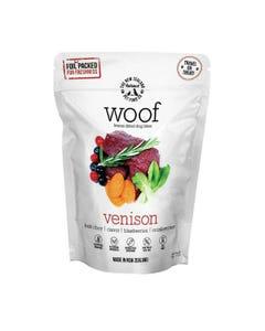 The NZ Natural Pet Food Co. Woof Freeze Dried Dog Treats - Wild Venison