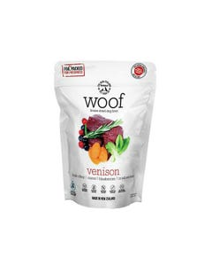 The NZ Natural Pet Food Co. Woof Freeze Dried Dog Food - Wild Venison