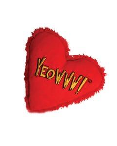 Yeowww! Catnip Heart Attack Cat Toy