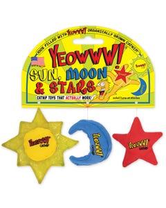 Yeowww! Sun Moon & Stars Cat Toy
