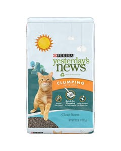Yesterday's News Unscented Cat Litter - 30lb