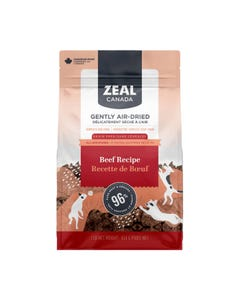 Zeal Gently Air-Dried Beef Recipe for Dogs
