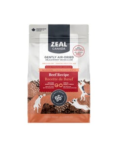 Zeal Gently Air-Dried Beef with Salmon & Pumpkin Recipe for Dogs