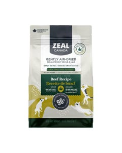Zeal Gently Air-Dried Beef with Hemp Recipe for Dogs