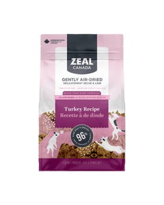 Zeal Gently Air-Dried Turkey Recipe for Dogs