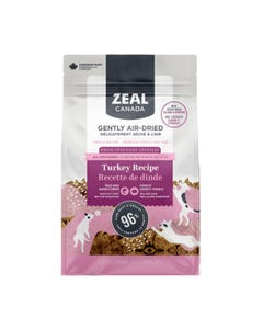 Zeal Gently Air-Dried Turkey with Salmon & Pumpkin Recipe for Dogs