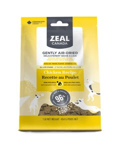 Zeal Gently Air-Dried Chicken Recipe for Dogs