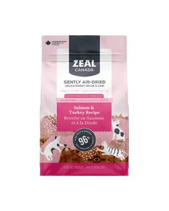 Zeal Gently Air-Dried Salmon & Turkey Recipe for Cats