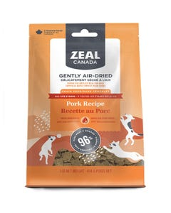 Zeal Gently Air-Dried Pork Recipe for Dogs