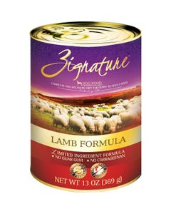Zignature Limited Ingredient Canned Dog Food - Lamb