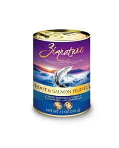 Zignature Limited Ingredient Canned Dog Food - Trout & Salmon