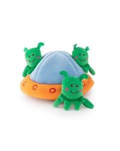 ZippyPaws Burrow - Aliens in UFO