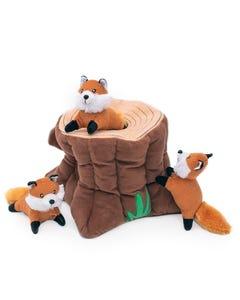 ZippyPaws Burrow - Fox Stump