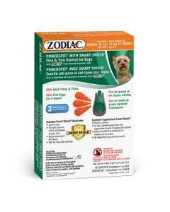 Zodiac Powerspot with Smart Shield Flea & Tick Control - Under 14 kg