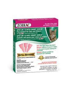 Zodiac Spot On Flea & Tick Control Refills for Cats & Kittens
