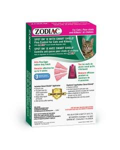 Zodiac Spot On with Smart Shield Flea & Tick Control for Cats & Kittens