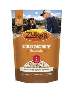 Zukes Crunch Naturals 2s Dog Treats Baked with Yogurt & Honey Front