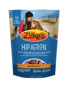 Zuke's Hip Action Treats - Chicken Recipe - Front
