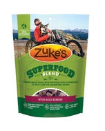 Zuke's SuperFood Blend Dog Treats With Bold Berries Front
