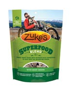 Zuke's SuperFood Blend Dog Treats With Great Greens Front