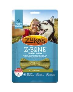 Zuke's Z-Bone Dental Chew with Apples - Front