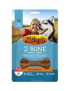 Zuke's Z-Bone Dental Chew with Carrots - Front
