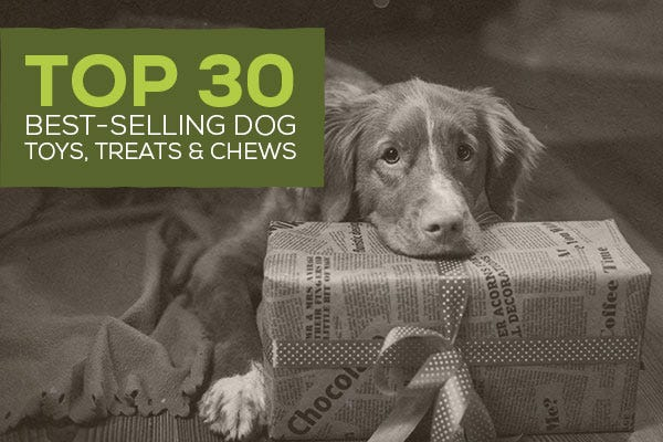 Top 30 Best Selling Dog Toys, Treats, and Chews