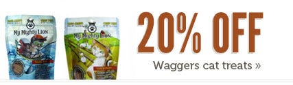 Shop Waggers Cat Treats