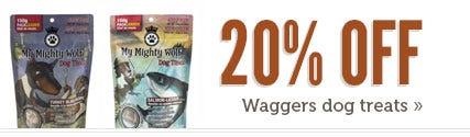 Shop Waggers Dog Treats