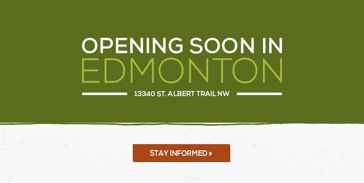 Opening Soon in Edmonton