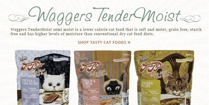 Waggers TenderMoist Cat Food