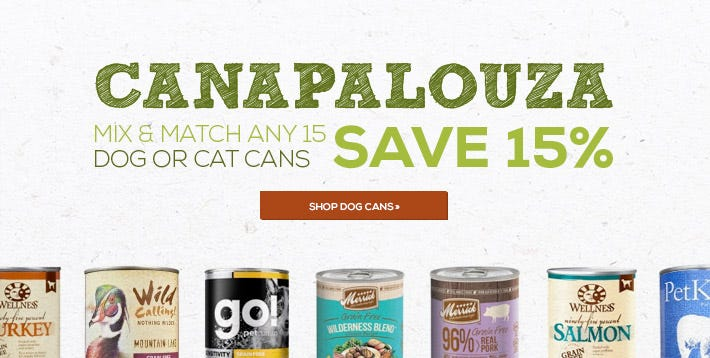 Shop Canned Dog Food
