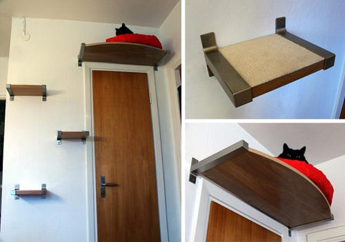10 nifty ikea cat hacks. Black Bedroom Furniture Sets. Home Design Ideas