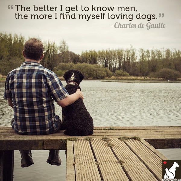 Charles de Gaulle dog quote