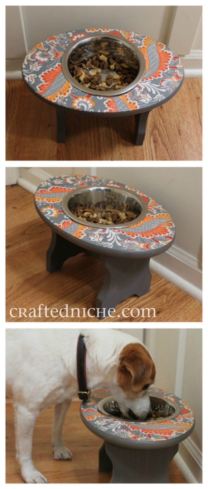 DIY Elevated Pet Bowl