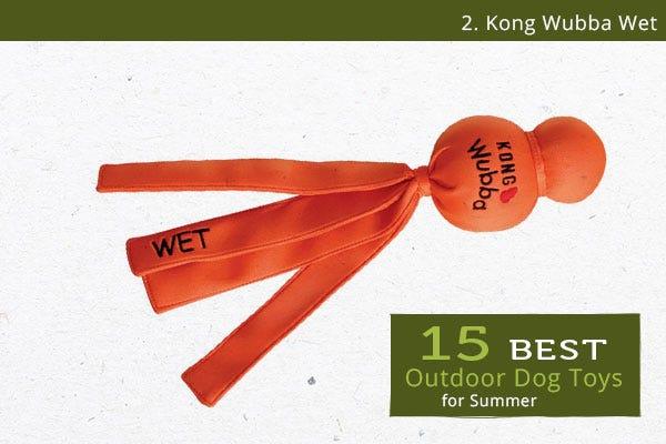 Kong Wet Wubba - Best Outdoor Dog Toys for Summer